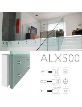 Garde-corps verre ESCALIER ALX500ESC