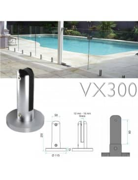 Barriere piscine verre VX300