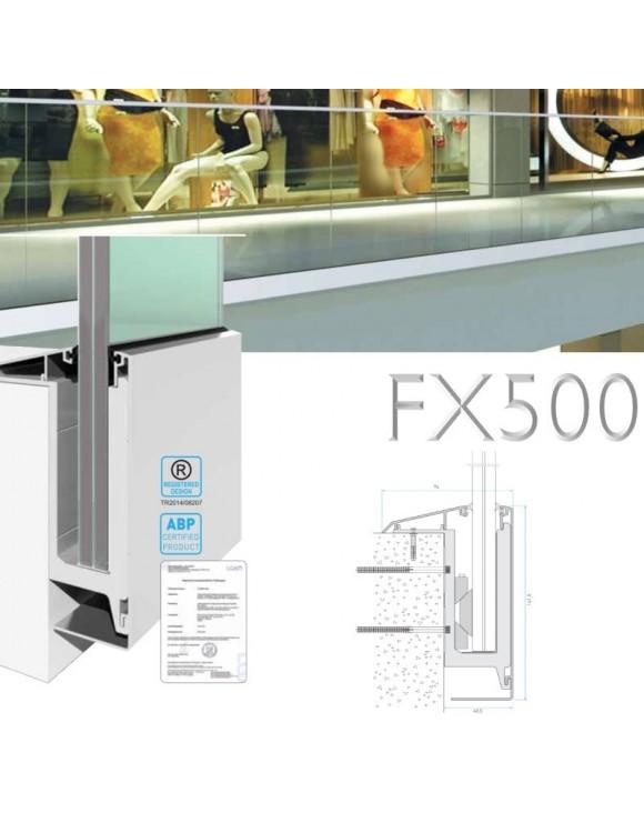 Balustrade en verre FX500